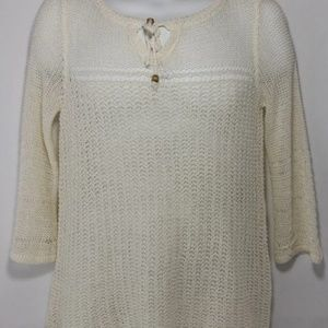 Womens Lucky Brand Knit Too Sweater